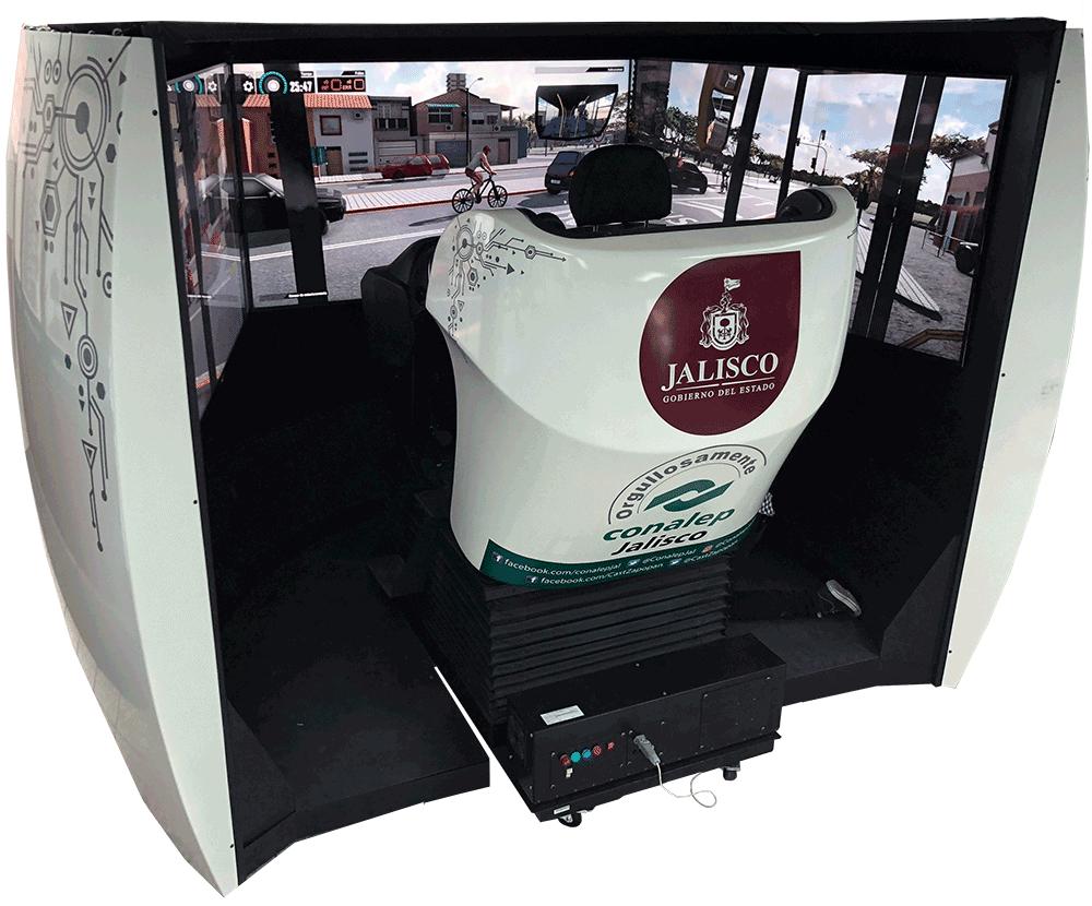 simulador de autobus y camion