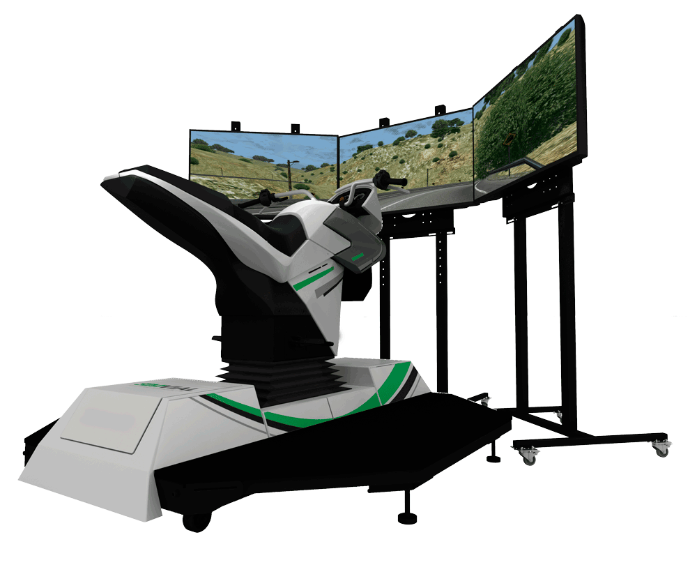Simulador De Motocicleta Low
