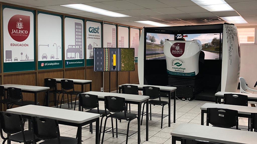 Simulador Autobus Conalep Jalisco