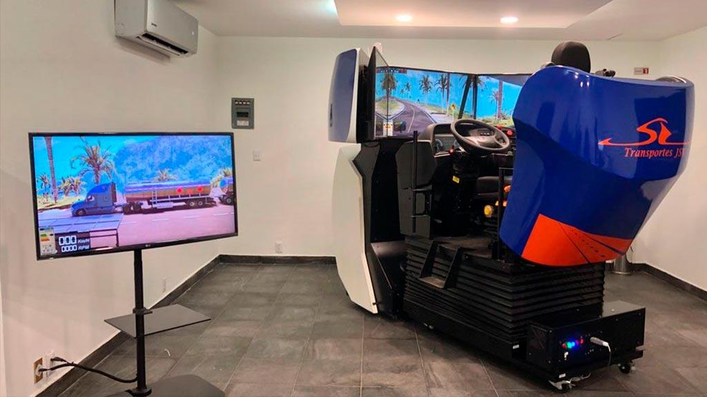 Simulador Autotanque Santana Vega