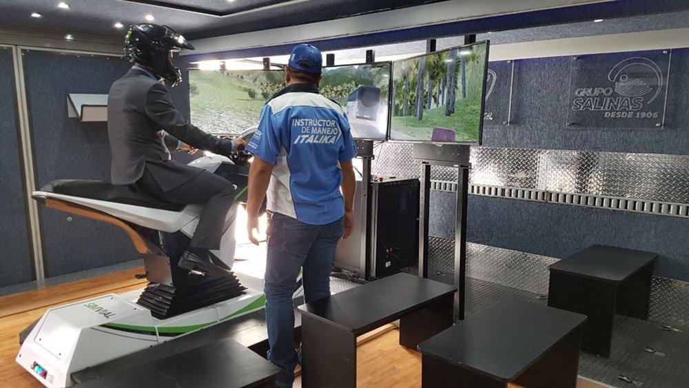 Simulador De Moto Apex