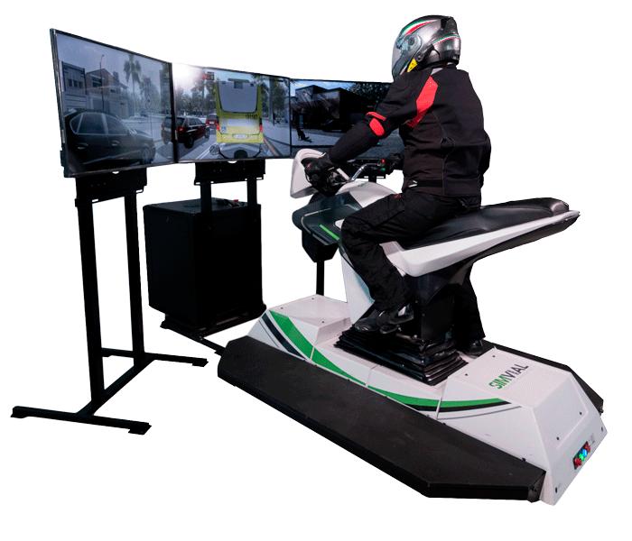 Simulador De Motocicleta 1