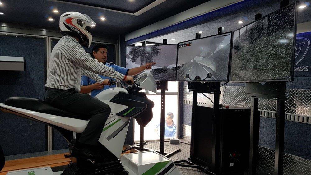 Simulador De Motocicleta Apex