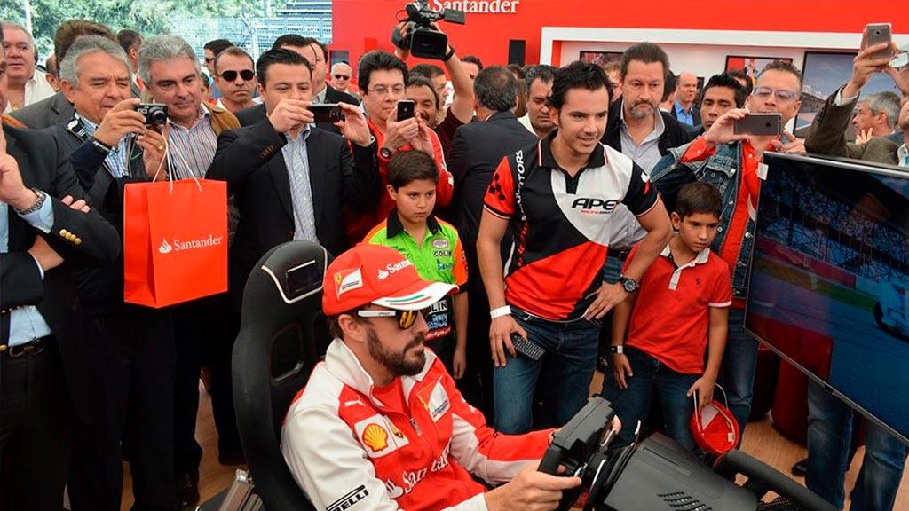 Simulador Fernando Alonso