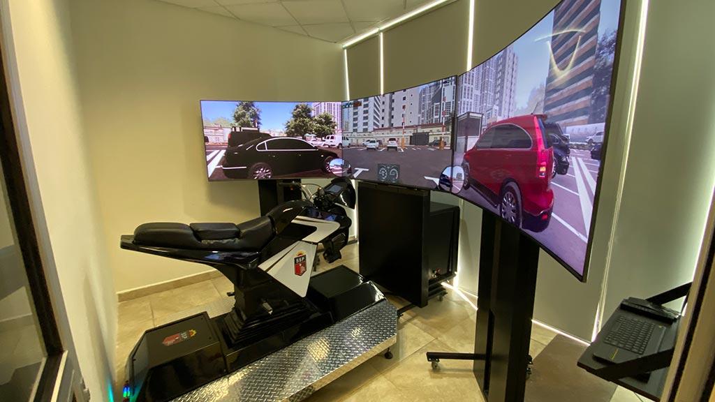 Simulador Motocicleta Patrulla
