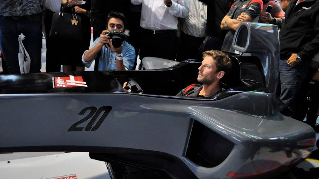 Simulador Romain Grosjean