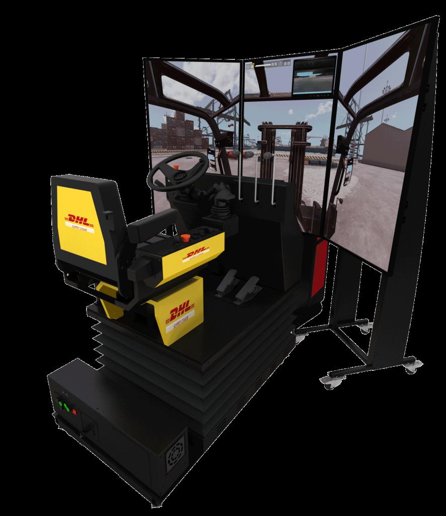 Simulador Montacargas Dhl 886x1024