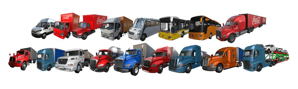 Camiones Simulados 1