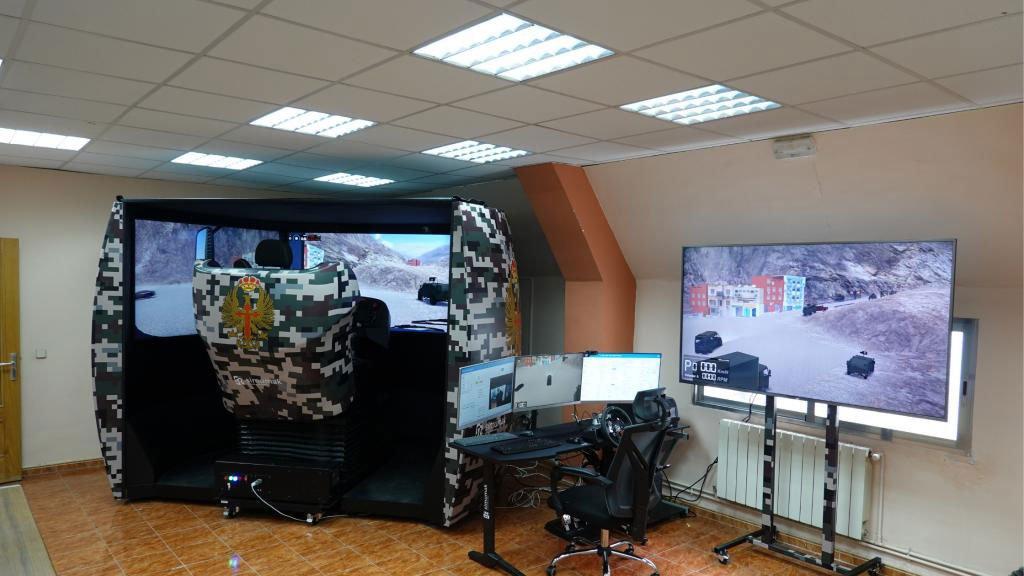 Simulador De Tanque Apex 2