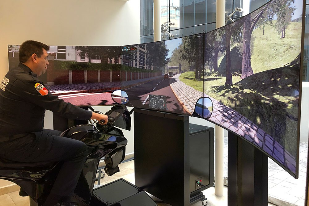 Simulador De Moticicleta Apex 3